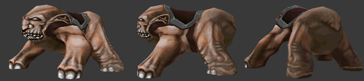 Image of monster model